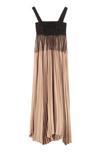Gelatina pleated skirt dress, Gowns & Evening dresses Pinko woman