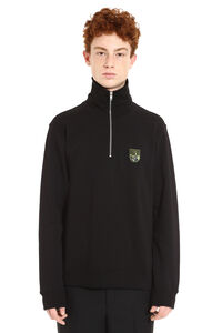 Tiger Mountain full zip cotton hoodie, Zip through Kenzo man