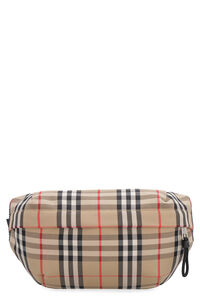 Vintage check cotton belt bag, Beltbag Burberry man