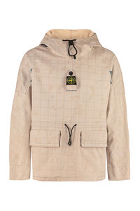 Hooded anorak, Down jackets Stone Island man