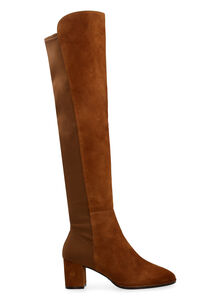 Stivali over-the-knee Harper 60 in suede, Stivali over-the-knee Stuart Weitzman woman