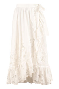 Cotton wrap skirt, Wrap skirts Zimmermann woman