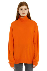Wool and cashmere turtleneck sweater, Turtleneck sweaters CALVIN KLEIN JEANS EST. 1978 woman
