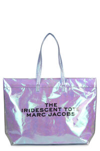 The Iridescent PVC tote bag with logo, Tote bags Marc Jacobs woman