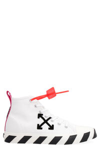Canvas mid-top sneakers, High Top Sneakers Off-White man