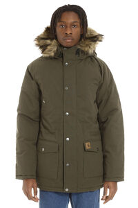 Trapper padded parka with faux fur hood, Parkas Carhartt man