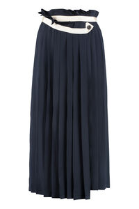 Hasu pleated wrap skirt, Pleated skirts Golden Goose woman