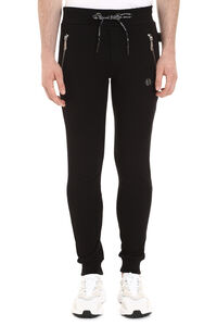 Original stretch cotton track-pants, Track Pants Philipp Plein man