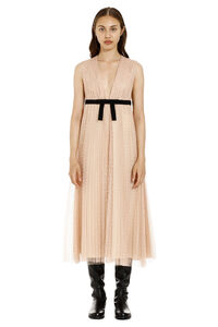Pleated tulle dress, Midi dresses Red Valentino woman