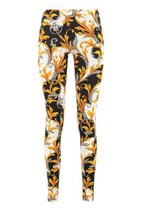 Printed leggings, Leggings Versace woman