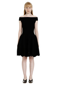 Open-knit dress, Mini dresses Alexander McQueen woman