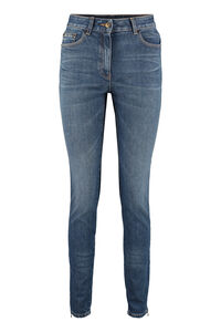 5-pocket jeans, Skinny Leg Jeans Moschino woman