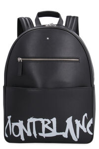 Dome saffiano leather backpack, Backpack Montblanc man