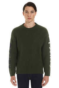 Intarsia wool sweater, Crew necks sweaters Kenzo man