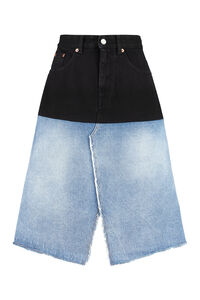 Denim skirt, Denim Skirts MM6 Maison Margiela woman