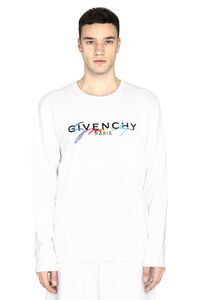 Embroidered cotton sweatshirt, Sweatshirts Givenchy man