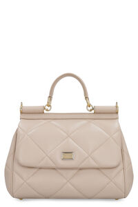 Sicily quilted leather bag, Top handle Dolce & Gabbana woman