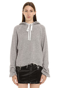 Oversize cotton hoodie, Hoodies Unravel Project woman