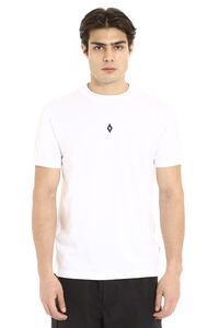 Printed short sleeve cotton T-shirt, Short sleeve t-shirts Marcelo Burlon County of Milan man