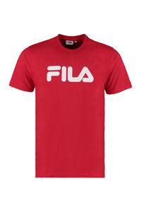 Pure cotton T-shirt with logo, Short sleeve t-shirts Fila man