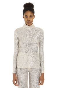 Sequin long sleeve top, Long sleeved L'Autre Chose woman