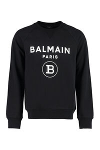 Cotton crew-neck sweatshirt, Sweatshirts Balmain man