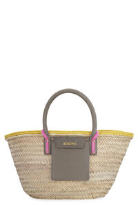 Soleil raffia handbag, Top handle Jacquemus woman