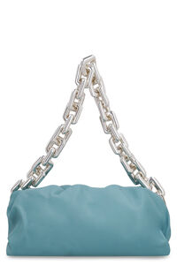 The Chain Pouch leather clutch, Clutch Bottega Veneta woman