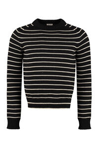 Virgin wool sweater, Crew necks sweaters Saint Laurent man