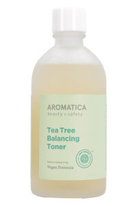 Tea tree balancing toner, 130 ml/4.3 fl oz, Gift Guide Aromatica man