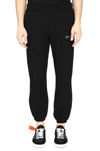 Short stretch cotton track-pants, Track Pants Off-White man