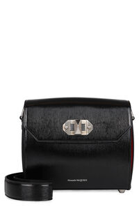Box 21 leather bag, Shoulderbag Alexander McQueen woman