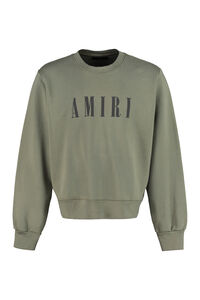 Cotton crew-neck sweatshirt, Sweatshirts AMIRI man