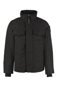 Forester full zip padded jacket with snaps, Down jackets Canada Goose man