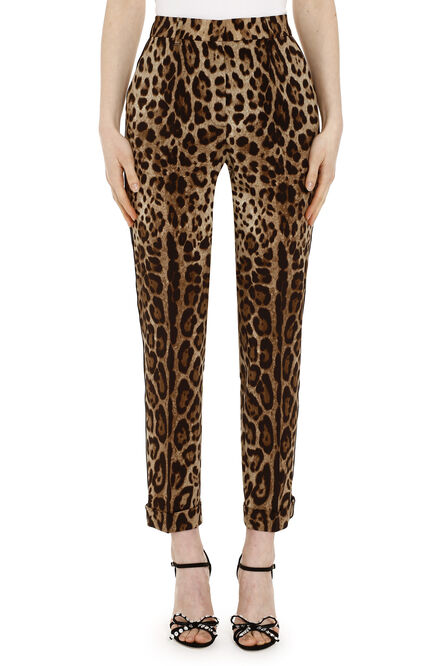 Classic wool trousers, Trousers suits Dolce & Gabbana woman