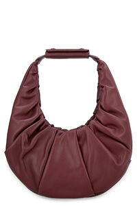 Soft Moon leather bag, Top handle STAUD woman