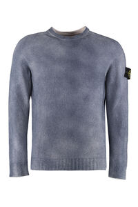 Cotton-nylon blend crew-neck sweater, Crew necks sweaters Stone Island man