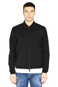 Nylon windbreaker-jacket, Raincoats And Windbreaker Dsquared2 man