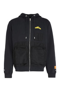 Full zip hoodie, Zip through Heron Preston man