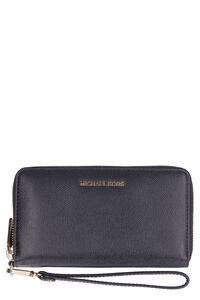 Leather ziparound wallet, Wallets MICHAEL MICHAEL KORS woman