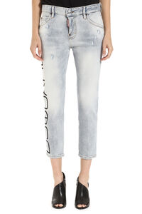 Jeans cropped-fit, Jeans cropped Dsquared2 woman