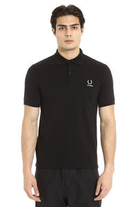 Raf Simons x Fred Perry - Piqué cotton polo, Short sleeve polo shirts Fred Perry man