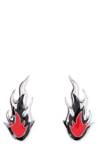 Flame silver earrings, Earrings AMBUSH woman