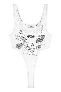 Sleeveless bodysuit, Bodysuits GCDS woman