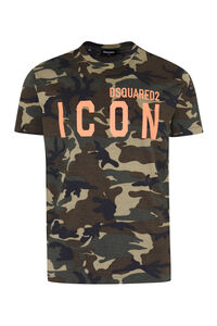 Front print T-shirt, Short sleeve t-shirts Dsquared2 man