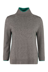 Berger wool and cashmere pullover, Turtleneck sweaters Max Mara Studio woman