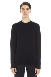Crew-neck wool sweater, Crew necks sweaters Drumohr man