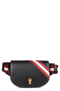 Clayn leather belt bag, Beltbag Bally woman