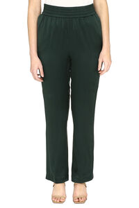 Silk trousers, Wide leg pants Fabiana Filippi woman