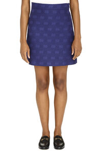 Jacquard mini skirt, Mini skirts Gucci woman